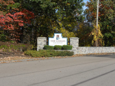 The Ledges entrance