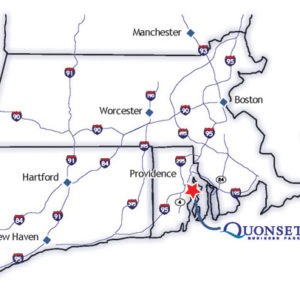 Quonset Business Park location