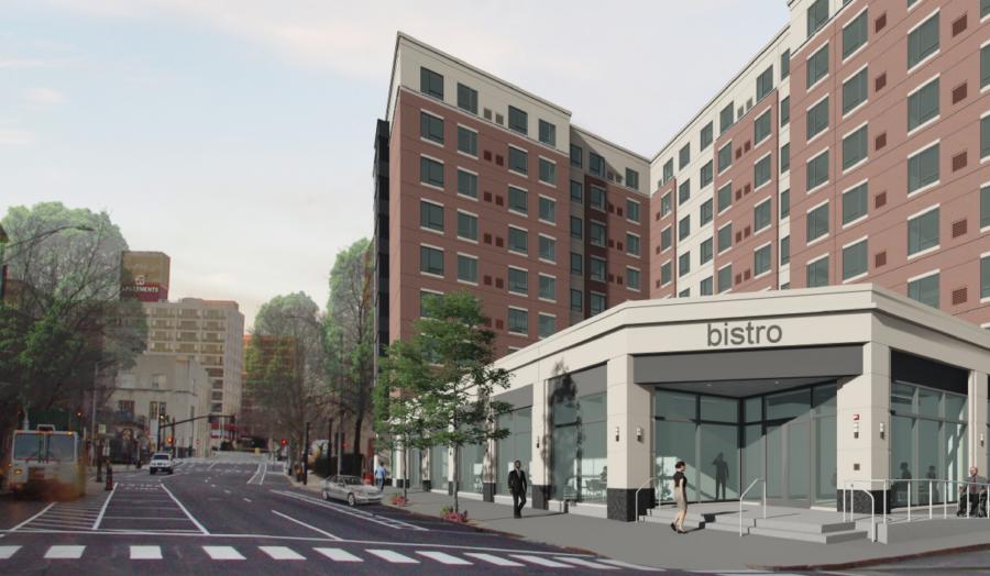 Rendering of Residence Inn by Marriott