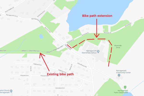 William C. O'Neill Bike Path