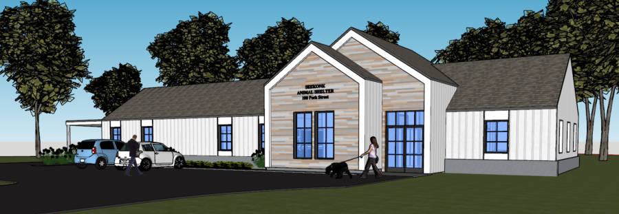 Seekonk Animal Shelter - Rendering